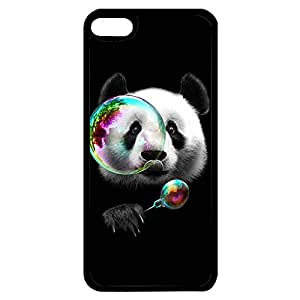 Bubble By Lovely Panda Bear Phone Case Cover for Ipod Touch 6th Generation Panda Bear Unique Custom