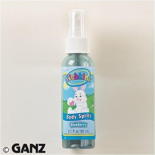 Webkinz Body Spritz Blueberry by Ganz by Ganz