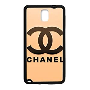 Happy Famous brand logo Chanel design fashion cell phone case for samsung galaxy note3