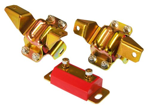 Prothane 6-1904 Red Motor and Transmission Mount Kit