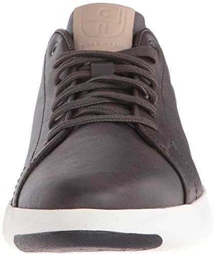 Cole Haan Mænds Grandpro Tennis Mode Sneaker Mørk Stege / Tan b6YXx9HsGD