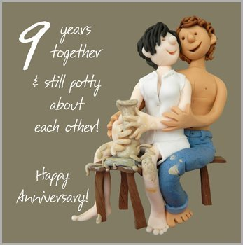Amazon ninth wedding anniversary
