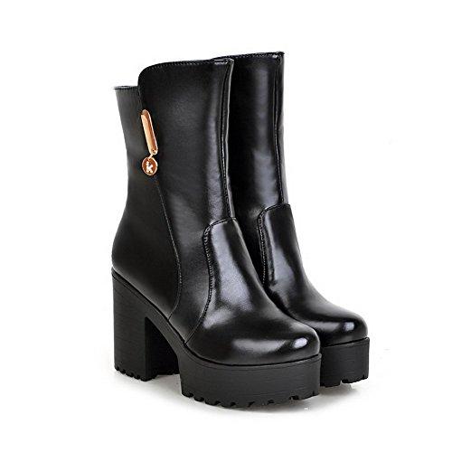 Botte Femme Automne - hiver des femmes Haut Top antidérapants plates noir taille8.5 4e7CwJn