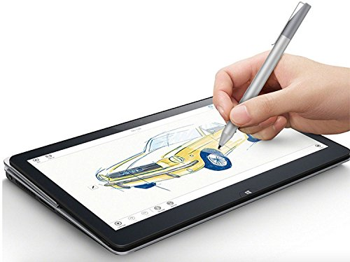 Surface Pen,Surface Stylus Pen 1024 Levels Pressure Sensitivity Aluminum Body Microsoft Surface Pro 2017,Surface Pro 5,Surface Pro 4, Surface Pro 3, Surface Book,Studio (Silver) by ANYQOO (Image #3)