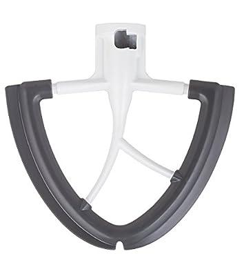 Gvode Flex Edge Beater for KitchenAid Tilt-Head Stand Mixer 4.5-5 Quart -Flat Beater with Flexible Edge