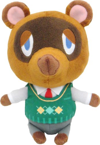Amazon Com Sanei Animal Crossing New Leaf Tom Nook Tanukichi 8
