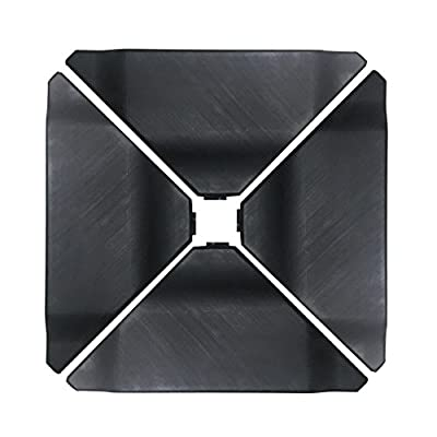 Abba Patio Cantilever Offset Umbrella Base Plate Set Heavy Duty Weights