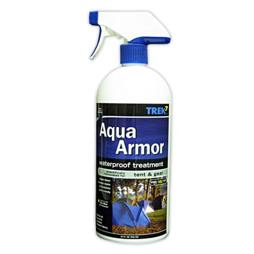 Aqua Armor Fabric Waterproofing Spray for Tent & Gear, 32 Oz by Trek7