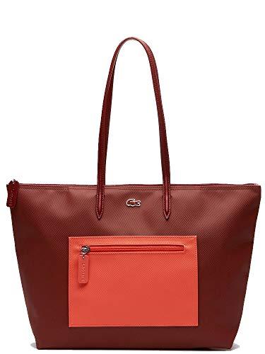 Lacoste Purse Concept Orange Femme Rouge