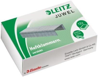 Leitz Heftklammern Juwel, 4 mm, verzinkt 2000 Stück