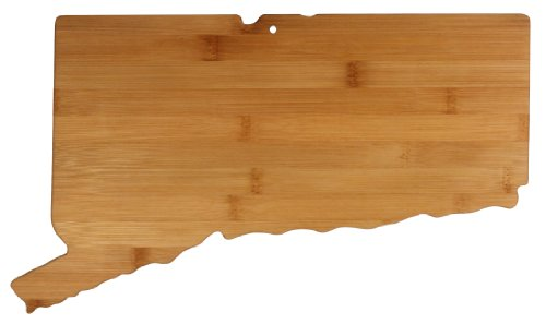 Totally Bamboo State Cutting   Serving Board  Connecticut  100  Bamboo Board For Cooking And Entertaining