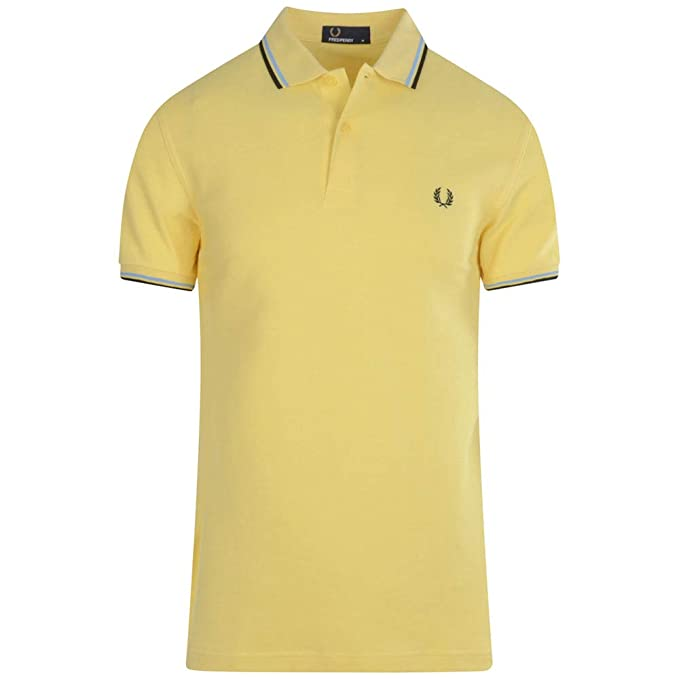 0c3b503606ee Fred Perry Men's Slim Fit Twin Tipped Polo Shirt: Amazon.ca ...