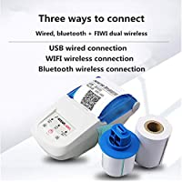 Etiqueta portátil Impresora térmica Teléfono móvil Bluetooth WiFi ...
