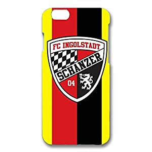Fashion Design FC Ingolstadt Series Football Club Phone Case Cover For Iphone 6/6S 3D Plastic Phone Case