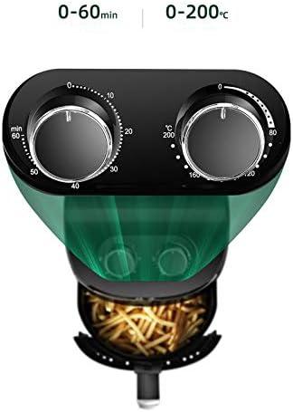 GAOWF Friteuse À Air Multifonction 1000W 3.6L Poulet sans Huile Friteuse À Air Santé Friteuse Cuiseur À Pizza Intelligent Électrique Profond