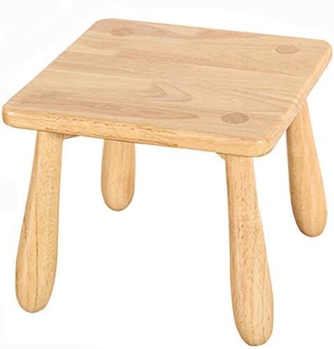 LOFDS Silla pequeña Banco de madera para niños Sofá de sala ...