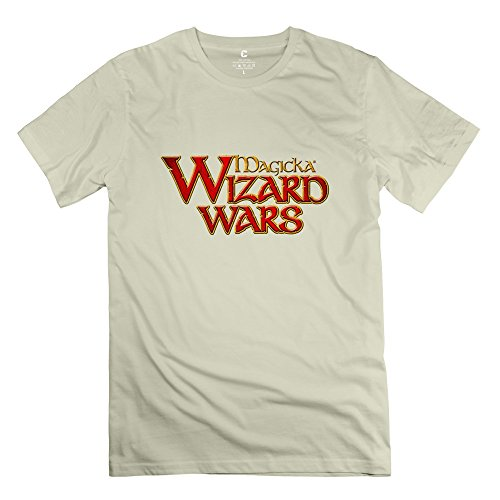 Magicka 2 Logo Very Casual Natural T Shirts For Adult Size M