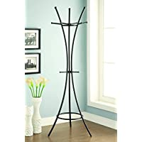 Coaster 900895 Home Furnishings Coat Rack, Black