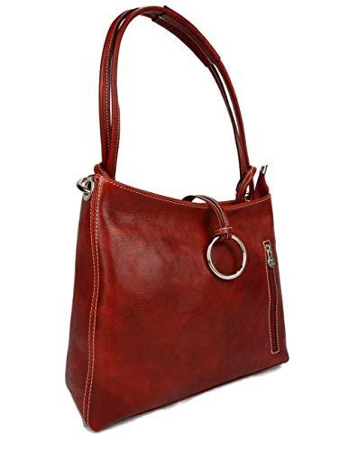 ... Sacoche femme sac à main besace en cuir sacoche de cuir besace main bandoulière  traverser sac ... e74c6b546936