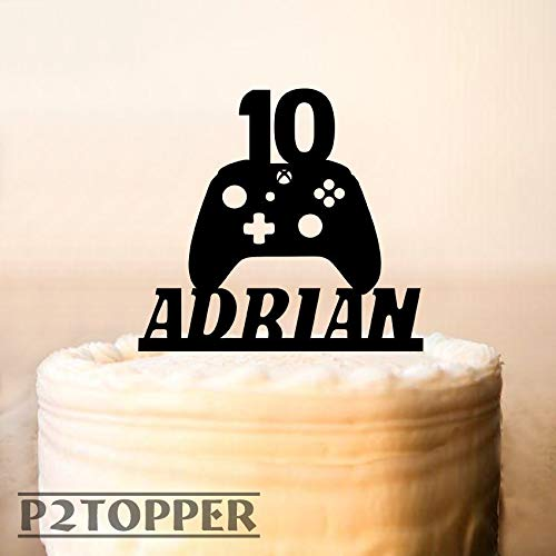 Gamer Cake Topper Game ControllerXBox Birthday Partycontroller Gaming Party Boys 0321 Amazon