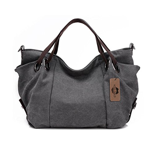Canvas Hobo Handbags - 6