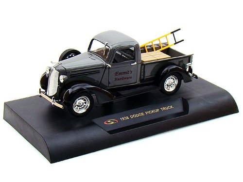 1938 Dodge Pickup Truck with Ladder 1:32 Scale (Grey)