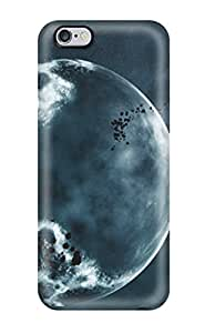 High Grade Mary Elizabeth Mihas Flexible Tpu Case For Iphone 6 Plus - Space Art