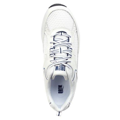 Dessiné Chaussure Hommes Aaron Oxford Blanc / Bleu