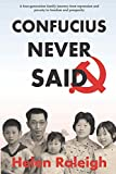 img - for Confucius Never Said book / textbook / text book