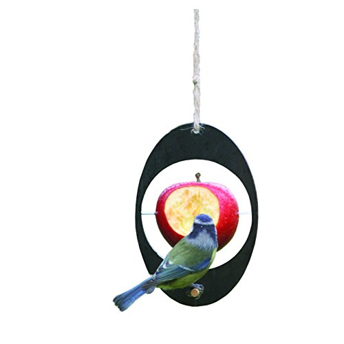 (Bosmere W410 Eco Recycled Bird Feeder, Black)