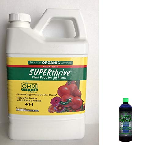 SUPERthrive Plant Food for All Plants. Plus Free 2OZ Lost Coast Plant Therapy Pesticide/Fungicide