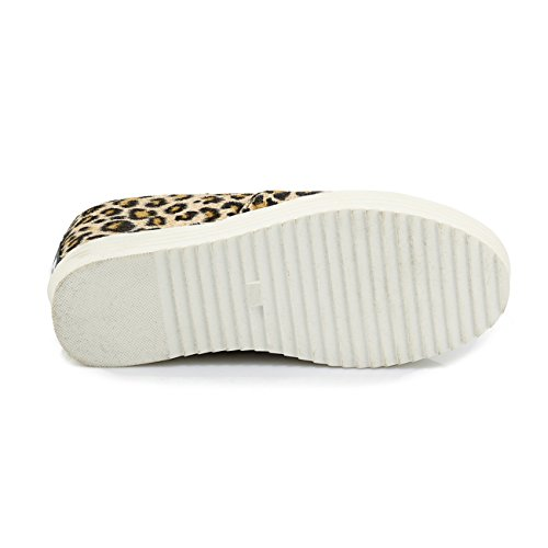 YL Women's Court Shoes Leopard 2oUgRQU
