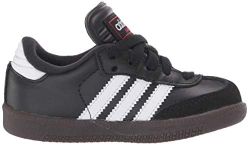 ADIDAS SAMBA CLASSIC Shoes Boys Black Leather Indoor Soccer