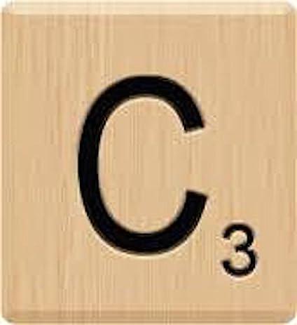 Image result for scrabble letter images c