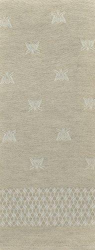 Tessitura Pardi Api (Bees) Natural Misto Linen Large Italian Kitchen Towel ()