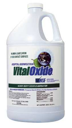 Vital Oxide Cleaner and Disinfectant, Size 128 oz.