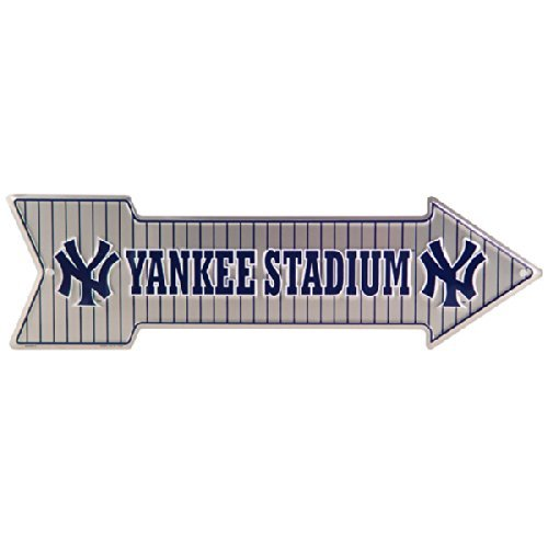 Yankee Stadium Metal Arrow Sign by Tag City Novelty Signs