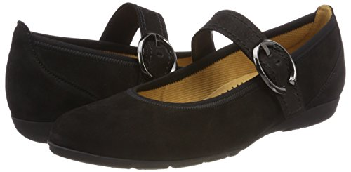 Casual Donna Gabor Shoes Eu Nero Ballerine 37 schwarz 5 155twO