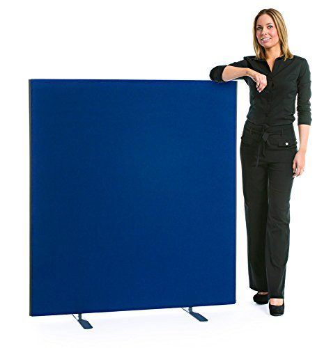 """""""Speedy"""" Linkable Office Screen/Partition 1400mm High x 1800mm Wide Royal Blue XL Displays Ltd"""