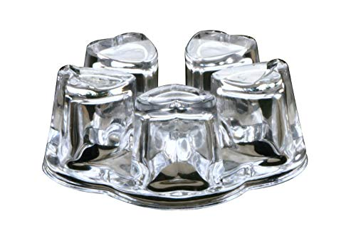 Suns Tea Solid Crystal Glass Teapot Warmer