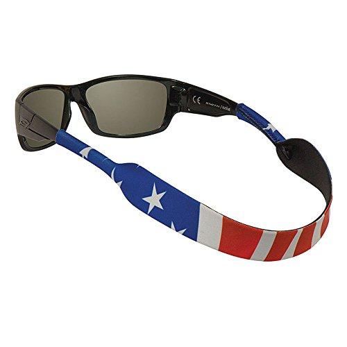 Chums Classic Neoprene Eyewear Retainer, American Flag