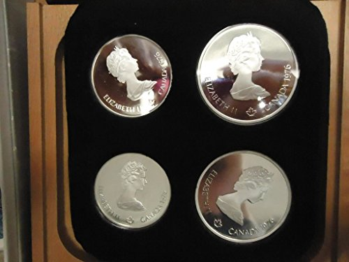 CA 1976 Canadian Olympic Silver Coin Proof Set in Original Package Proof