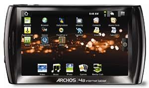 Archos 48 Internet Tablet 500GB, 500 GB, Inalámbrico, USB 2.0, WiFi (802.11 b/g/n), NTSC/PAL/SECAM, MP3, WMA, WAV, AAC9, AAC+, AC3