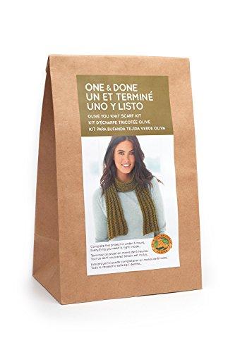 & Done Kits 606-174 Olive You Knit Scarf ()