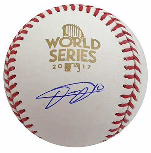 Yulieski Yuli Gurriel Autographed Official 2017 World Series MLB Baseball Houston Astros Beckett BAS Stock #149123