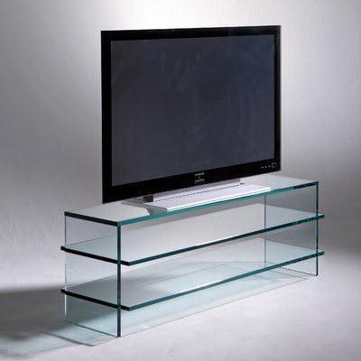 Schroers & Schroers Clear 900 - Mueble para televisor, transparente: Amazon.es: Electrónica