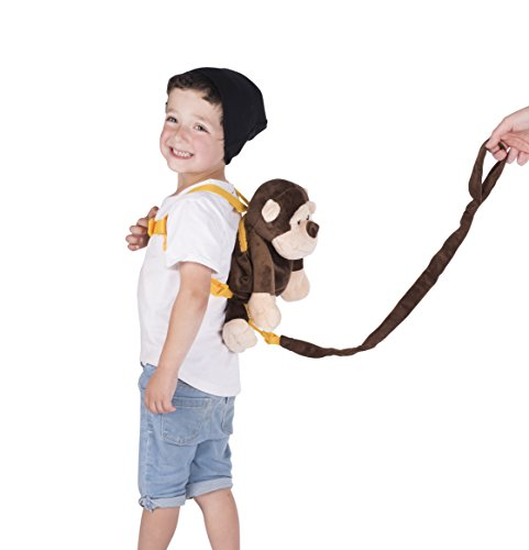 Amazon Com Animal Planet Baby Backpack With Safety Harness Monkey