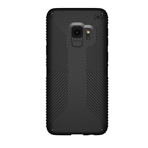 Speck Presidio Grip Samsung Galaxy S9 Case, Black/Black