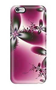 Perfect Fit CFiTkWP6002XgbPQ Pretty Magenta Flowers Case For Iphone - 6 Plus