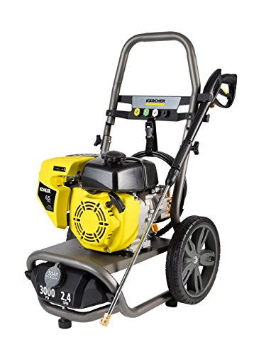 Karcher G3000XK Gas Pressure Washer Powered by Kohler, 3000 PSI, 2.4 GPM by Karcher